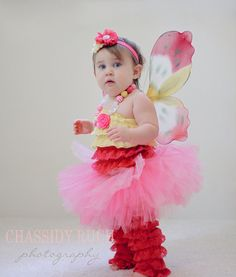 """Butterfly Halloween Costume - """"Tutu Cute"""" Butterfly - Girl Toddler Baby Infant Newborn Halloween Costume on Etsy, $62.33 CAD"""