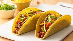 These tacos with a twist (think Green Giant® Veggie Blend-Ins™ carrot purée) don't just add a boost of veggies, they also make for an easy-to-make family go-to dinner. To learn more about Green Giant®Veggie Blend-Ins, visit www.VeggieBlendIns.com