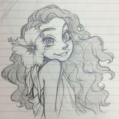 Sketch from my work notebook Cartoon Drawings Of People Cute Drawings Of Girls Cute Little Drawings Sketches Of People Disney Drawings Pretty Drawings Cartoon Faces Cute Sketches World Of Darkness Tumblr Sketches, Cute Sketches, Tumblr Art, Art Drawings Sketches, Cool Drawings, Cartoon Sketches, Drawing Faces, Moana Sketches, Pencil Drawings
