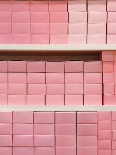 Pink boxes