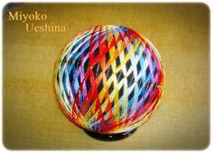 京手まり。 光沢のある京都独特の糸を使っています。煌びやかで品のあるのが特徴です。|ハンドメイド、手作り、手仕事品の通販・販売・購入ならCreema。