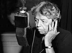 Elanor Roosevelt: She helped define what became the modern role of women in politics. She actually was the first Roosevelt to address the nation after the Pearl Harbor attacks - NOT her husband. Find that speech on YouTube and you'll know why she is a fantastic mind to learn from.