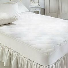 Absorption Plus Waterproof Mattress Pad, 200 Thread Count, Size King (75331-5) by Absorption Plus. $94.99. It features a durable 200-thread-count cotton top for the utmost in comfort. The special inner lining thoroughly absorbs liquids, to keep you dry, and the quiet waterproof backing provides long-lasting protection. The StretchKnit. skirt is to fit mattresses up to 16-inches thick.