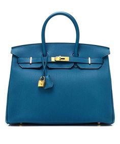 Vintage da icônica bolsa Hermès Birkin. http://abr.io/IOpg