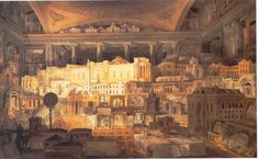 Gandy, Joseph Michael - 'A Selection of Public and Private buildings' Parts according to Sir John Soane's projects RA. FSA., for the metropolis and other places of the United Kingdom between 1780 and 1815', 1818 (Image: Cottbus University)