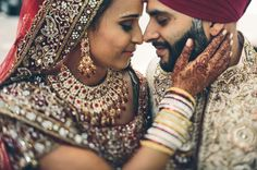 Touching Bride and Groom Embrace Indian Wedding in Toronto Modern Traditional, Traditional Wedding, Desi Bride, Wedding Sutra, Indian Wedding Photography, Toronto Wedding, Marry You, Healthy Summer, Romantic Couples