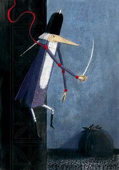 """Михальская Мария - Иллюстрация к сказке Э.Т. А. Гофмана """"Щелкунчик и мышиный король"""""""