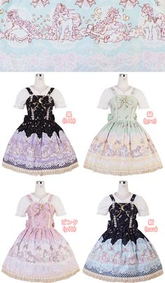 Bodyline L579 Unicorn and Friends   I WAAANNT THIS!! The navy one is soooo pretty!!