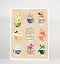 TEA IS ALWAYS GOOD IDEA on Behance