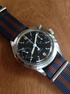 Lemania RAF Series 3 1965 Chrono: