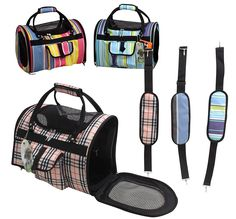 Light Weight Soft Sided Pet Carrier - Style May Vary >>> See this great product.