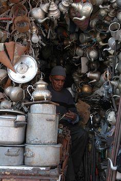 Souk in MARRAKESH - Morocco