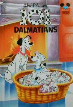 101 Dalmatians Wonderful World of Reading 1996 Hardcover book