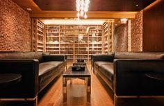 Humidor Lounge Area