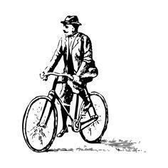 vinilo-decorativo-hombre-en-bicicleta.jpg (600×600)