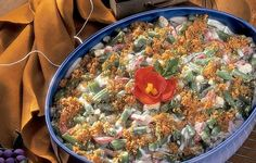 Grandma's Special Beans - A nice variations on the traditional Holiday Green Bean casseroles