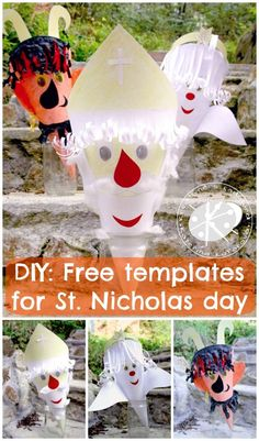 DIY: Free templates for St. Advent, Christmas Crafts, Christmas Ornaments, Winter, Projects To Try, Templates, Activities, Holiday Decor, Blog