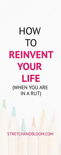 Sometimes in life you get stuck in a rut and live on auto-pilot. This is how you can reinvent your life in a few short steps. Sometimes in life you get stuck in a rut and live on auto-pilot. This is how you can reinvent your life in a few short steps. Self Development, Personal Development, Stuck In A Rut, Yoga Posen, Science Student, Career Change, Yoga Quotes, Life Quotes, Self Improvement Tips