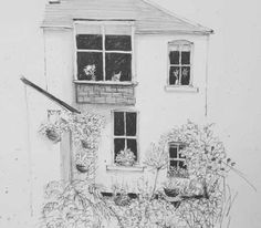 Home - Sally Atkins Pencil Shading, Atkins, Sally, Terrace, Sketches, Ink, Illustrations, Portrait, Artist