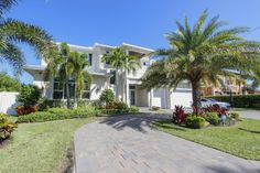 $3,500,000 - 4020 NE 26th Ave Lighthouse Point, FL 33064 | Smart home 6000sft coastal contemporary waterfront home. See more details, click above.