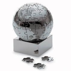 Modern Puzzle Globe by Yen Lau fro Philippi