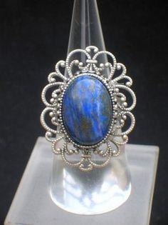 Lapislazuli ring, just love it!