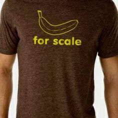 Banana For Scale (Men's) on the redditgifts Marketplace