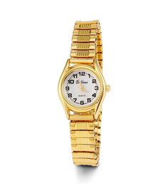 Women's Gold Tone Stretch Band Quartz Bracelet Watch >>> Discover this special product, click the image (This is an amazon affiliate link. I may earn commission from it)