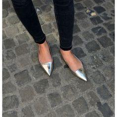 www.pinkinside.com Ballerinas, Pointy Flats, Heels, Pink, Women, Fashion, Moda, Fashion Styles, Ballerina Flats