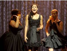 Amber Riley, Naya Rivera, Heather Morris