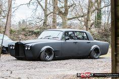 Shane lynch drift Rolls Royce