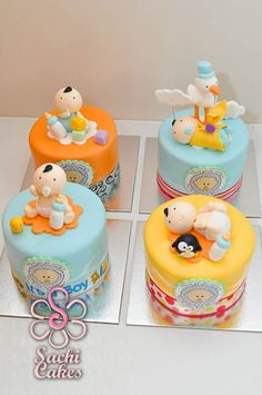 Sachi Cakes: Baby with Stork