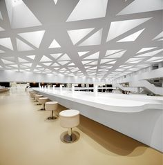 Perforated ceiling