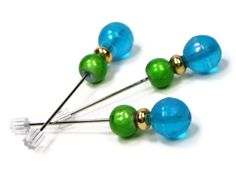 Counting Pins Marking Pins Hardanger Cross Stitch by TJBdesigns, $6.50 Cross Stitch Embroidery, Cross Stitch Patterns, Cross Stitch Supplies, Blue Springs, Spring Green, Dressmaking, Needlepoint, Counting, Stitching