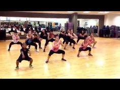 Zumba (dance fitness) - Diva by Beyoncé - YouTube