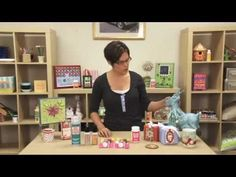 Mod Podge Holiday Formulas and Craft Projects with the fabulous @Amy Lyons: Mod Podge Rocks!