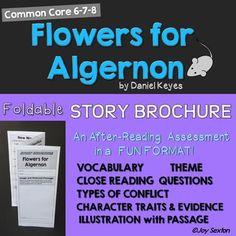 theme of flowers for algernon short story