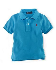 Ralph Lauren Childrenswear Infant Boys' Mesh Polo--- LOVE this color