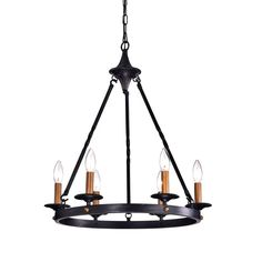 Surprise Deal Brian Wagon Wheel Chandelier By Millwood Pines Lantern Chandelier, Wagon Wheel Chandelier, Ceiling Chandelier, Candelabra Bulbs, Chandelier Shades, Chandeliers, Industrial Style Lighting, Farmhouse Lighting, Dining Pendant