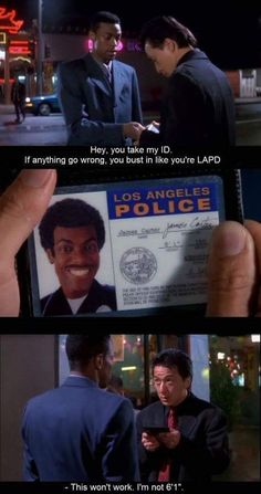"""My favorite line from """"Rush Hour"""""""