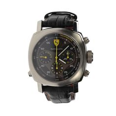 Ferrari Panerai Rattrapante Gent's Stainless Steel Watch Authentic Pre-owned #OfficinePanerai #LuxuryDressStyles