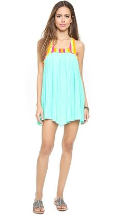 SUNDRESS Ariel Woven Beach Dress