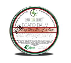 Something exciting is happening online today. Now available on our store: Bay Rum Son of a ... Check it out here! http://pureonebeauty.com/products/bay-rum-son-of-a-gun-br-beard-balm?utm_campaign=social_autopilot&utm_source=pin&utm_medium=pin