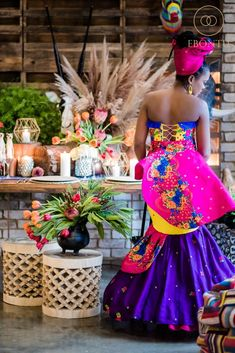 Ebontu presents an amazing modern South African wedding inspirational styled photoshoot featuring 8 Amazing African Wedding Dresses! Wedding Vendor Team: Shifting Sands Couture, Alexander Smith Photography and more. African Bridesmaid Dresses, African Wedding Attire, African Dresses For Women, African Fashion Dresses, Venda Traditional Attire, Tsonga Traditional Dresses, African Traditional Wedding Dress, Traditional Wedding Attire, Xhosa Attire