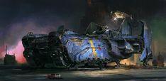 #cyberpunk #art #graphic #future Concept Enginery: Weiyi Qin