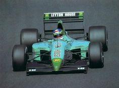 1991 Leyton House (March) CG911 - Ilmor (Ivan Capelli)