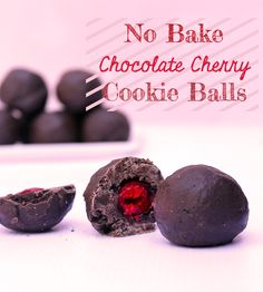 Holiday Hacks: No Bake Chocolate Cherry Cookie Balls Recipe