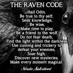 "366 Likes, 2 Comments - Nordic Sisterhood (@nordic_sisterhood) on Instagram: ""#raven"""