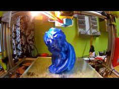 3D Printing (Cherub-Timelapsed) - YouTube