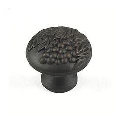 "Knob 1-3/8"" Diameter - Weathered Bronze/Copper (#19427-WZC)  by Century Hardware"